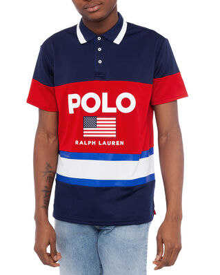 Polo Ralph Lauren Polo Active Tech Pique Newport Navy Multi