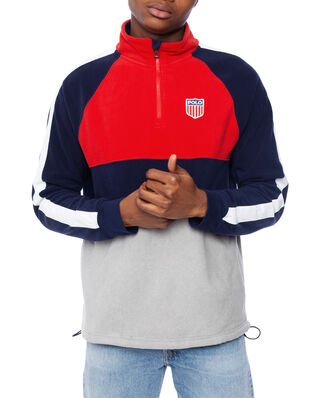 Polo Ralph Lauren Polo Shield Fleece Sweatshirt Polo Sport Red Multi