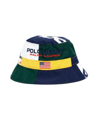 Polo Ralph Lauren Polo Sport Bucket Cap Hat Multi