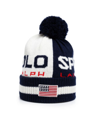 Polo Ralph Lauren Polo Sport Colour-Blocked Hat Cream/Navy