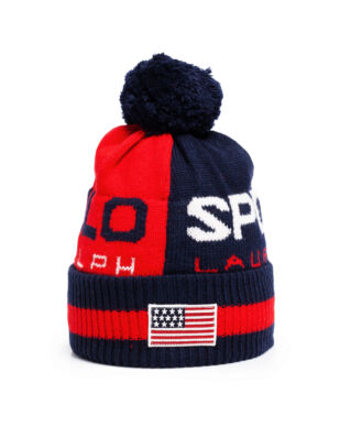 Polo Ralph Lauren Polo Sport Colour-Blocked Hat Red