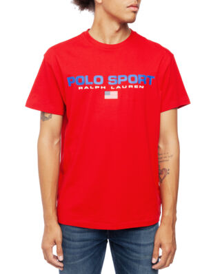 Polo Ralph Lauren Classic Fit Polo Sport Tee Rl 2000 Red