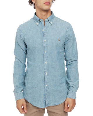 Polo Ralph Lauren Slim Fit Chambray Shirt Medium Wash