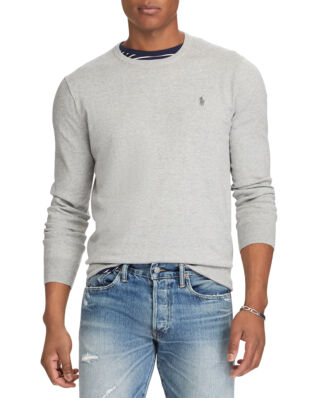 Polo Ralph Lauren Slim Fit Cotton Sweater Andover Heather