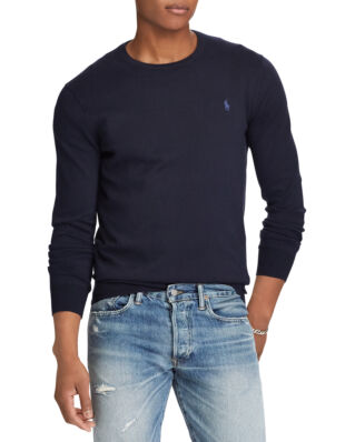 Polo Ralph Lauren Slim Fit Cotton Sweater Hunter Navy