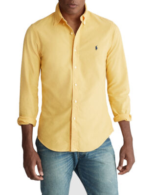 Polo Ralph Lauren Slim Fit Oxford Shirt Gold Bugle