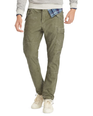 Polo Ralph Lauren Tapered Cotton Cargo Pant Olive