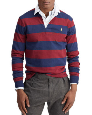 Polo Ralph Lauren The Iconic Rugby Shirt French Navy/Classic Wine
