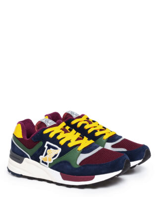 Polo Ralph Lauren Trackster 100 Trainer Newport Nvy/Bsc Frst/Clsc Wine