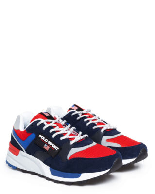 Polo Ralph Lauren Train100 Sneakers Navy/Rl2000 Red/Saphire Star
