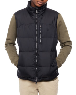 Polo Ralph Lauren Water-Repellent Down Gilet Polo Black