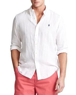 Polo Ralph Lauren Cubdppcs Long Sleeve Sport Shirt White