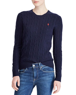 Polo Ralph Lauren Julianna-Classic-Long Sleeve-Sweater Hunter Nvy