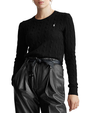 Polo Ralph Lauren Julianna-Classic-Long Sleeve-Sweater Polo Black
