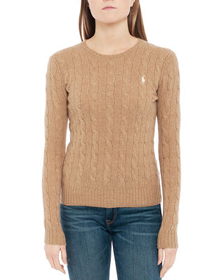 Polo Ralph Lauren Julianna-Classic-Long Sleeve-Sweater Tan