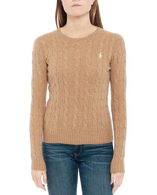 Polo Ralph Lauren Julianna-Classic-Long Sleeve-Sweater Tan