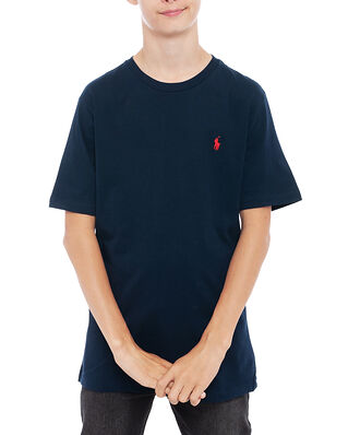 Polo Ralph Lauren Junior Cn Tee-Tops-Knit Cruise Nav
