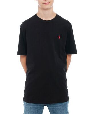 Polo Ralph Lauren Junior Cn Tee-Tops-Knit Polo Black