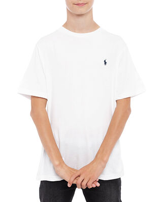 Polo Ralph Lauren Junior Cn Tee-Tops-Knit White