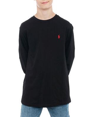 Polo Ralph Lauren Junior Ls Cn-Tops-T-Shirt Black
