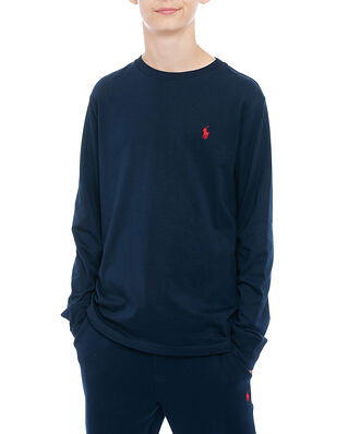 Polo Ralph Lauren Junior Ls Cn-Tops-T-Shirt Navy
