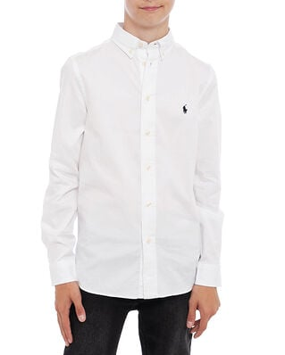 Polo Ralph Lauren Junior Slim Fit-Tops-Shirt White