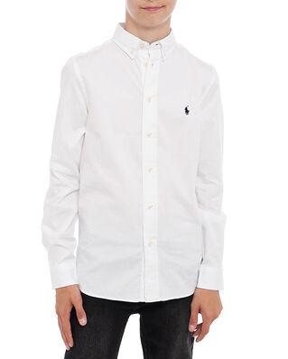 Polo Ralph Lauren Junior Slim Fit-Tops-Shirt White