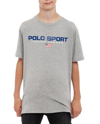 Polo Ralph Lauren Junior Ss Cn-Tops-T-Shirt Grey Htr