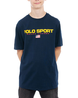 Polo Ralph Lauren Junior Ss Cn-Tops-T-Shirt Navy