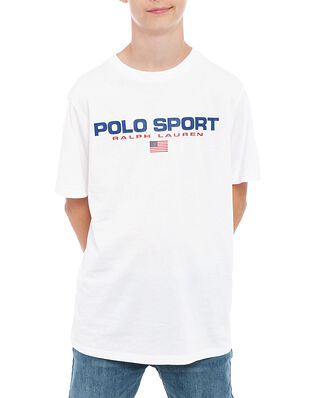 Polo Ralph Lauren Junior Ss Cn-Tops-T-Shirt White