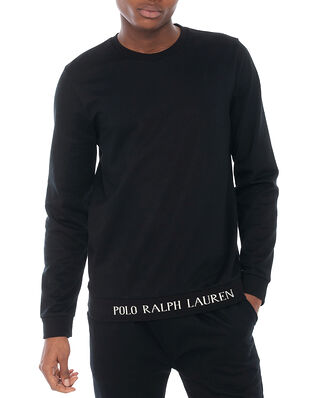 Polo Ralph Lauren L/S Crew-Crew-Sleep Top Polo Black
