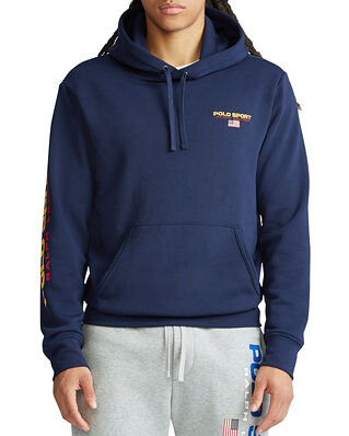 Polo Ralph Lauren Lspohoodm4-Long Sleeve-Knit Navy