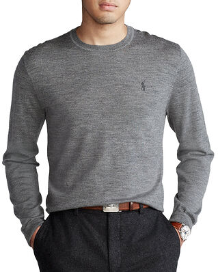 Polo Ralph Lauren Ls Sf Cn Pp-Long Sleeve-Sweater Grey
