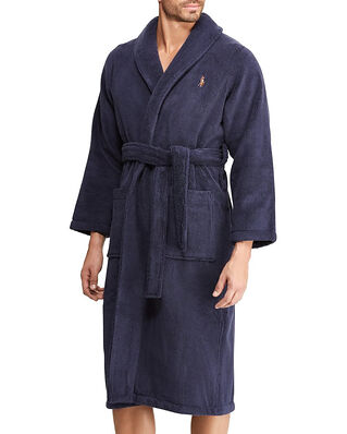 Polo Ralph Lauren L/S Shawl-Robe Navy