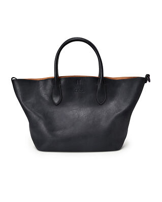 Polo Ralph Lauren Md Open Tote-Tote-Medium Black