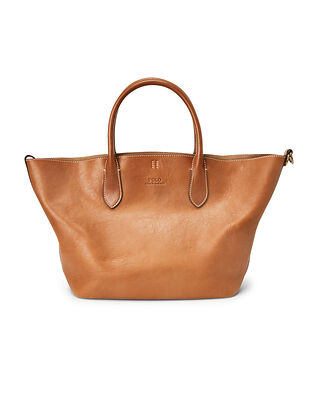 Polo Ralph Lauren Md Open Tote-Tote-Medium Brown