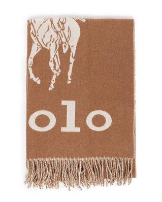 Polo Ralph Lauren Oversized Pp-Oblong Scarf Camel