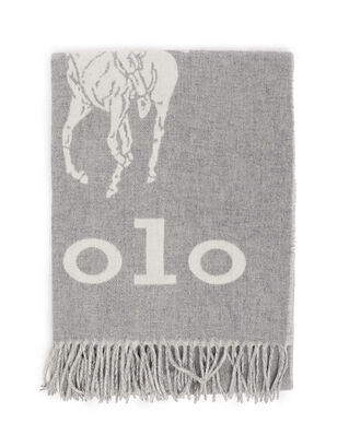 Polo Ralph Lauren Oversized Pp-Oblong Scarf Cream/Grey