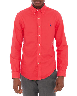 Polo Ralph Lauren Slbdppcs Long Sleeve Sport Shirt Red