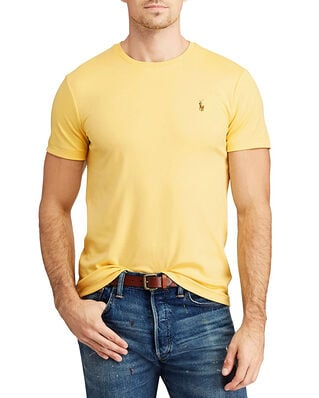 Polo Ralph Lauren Sscncmslm1 Short Sleeve T-Shirt Yellow