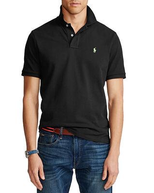 Polo Ralph Lauren Sskccmslm1 Short Sleeve Knit Black