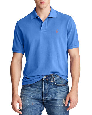 Polo Ralph Lauren Sskccmslm1 Short Sleeve Knit Blue