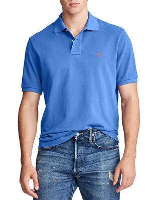 Polo Ralph Lauren Sskccmslm1 Short Sleeve Knit Blue