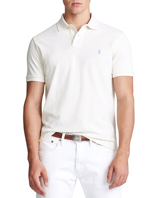 Polo Ralph Lauren Sskccmslm1 Short Sleeve Knit Cream