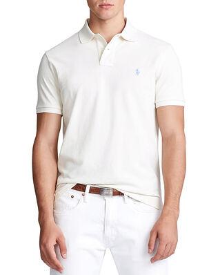 Polo Ralph Lauren Sskccmslm1 Short Sleeve Knit Cream