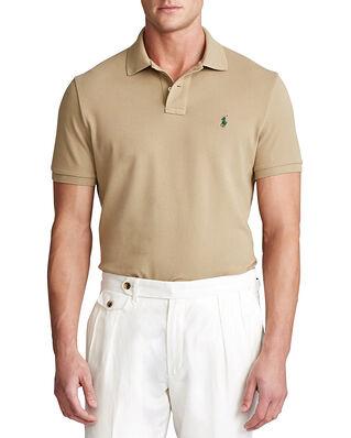 Polo Ralph Lauren Sskccmslm1 Short Sleeve Knit Khaki
