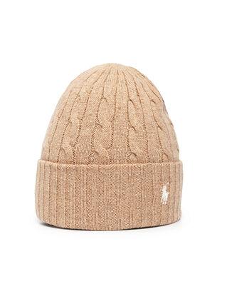 Polo Ralph Lauren Wool Cashmere-Hat Camel
