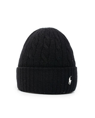 Polo Ralph Lauren Wool Cashmere Hat Black