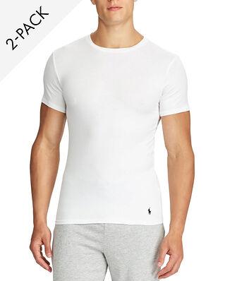 Polo Ralph Lauren Classic 2-Pack Crew Undershirt White
