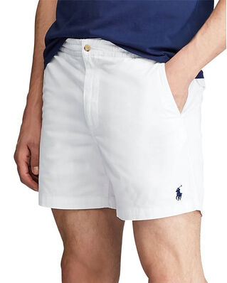 Polo Ralph Lauren Classic Fit Polo Flat Short White